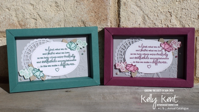 Share What You Love Shadow Box Frame | kelly kent