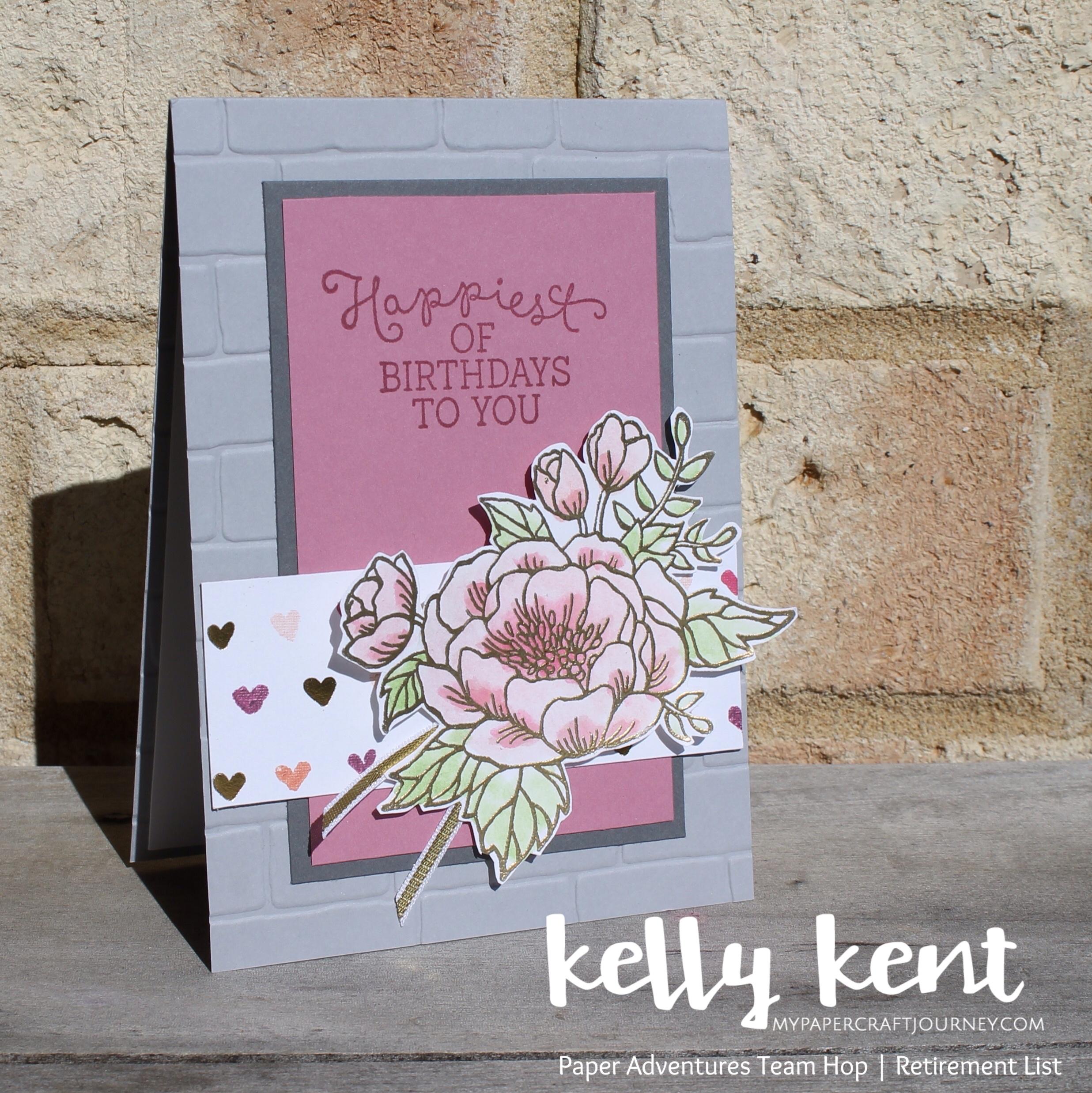 Birthday Blooms | kelly kent