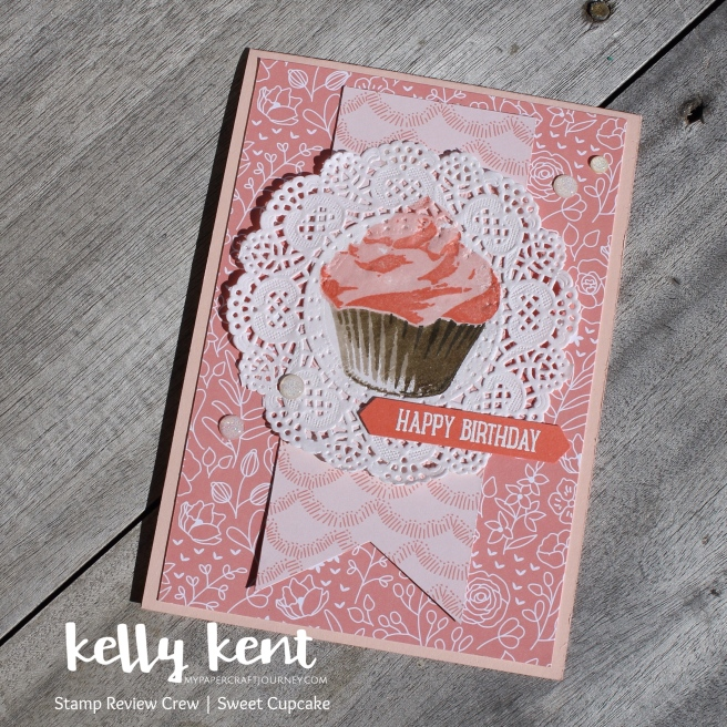 Stamp Review Crew - Sweet Cupcake | kelly kent