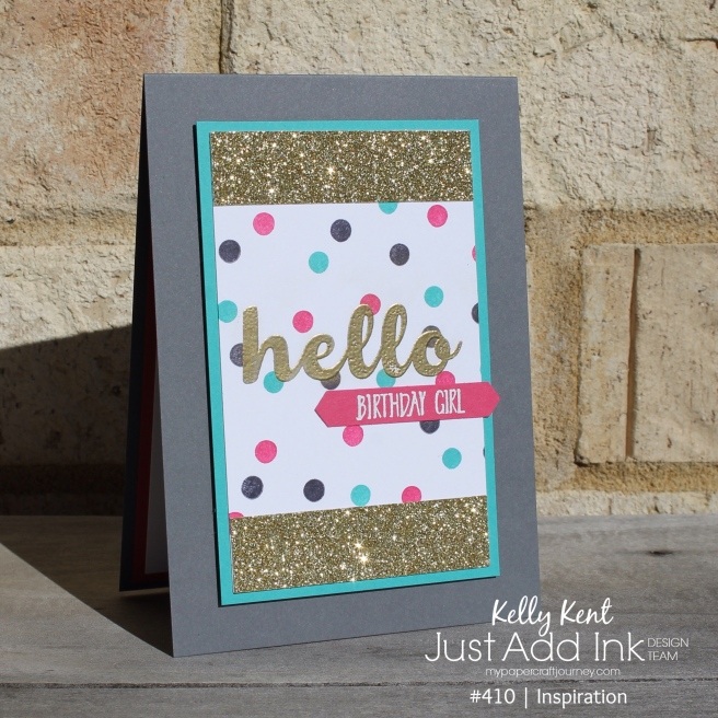 Hello Birthday Girl | kelly kent