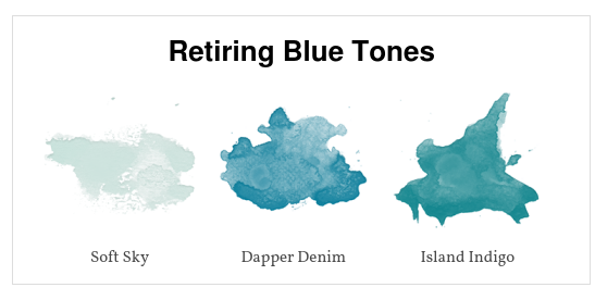 Retiring Blue Tones | kelly kent