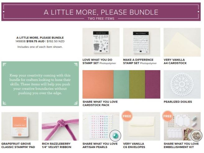 Share What You Love Bundle 2