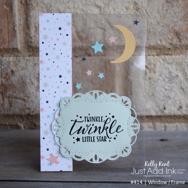 Twinkle Twinkle Window Card | kelly kent