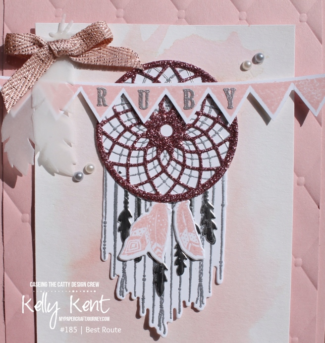 Follow Your Dreams baby card | kelly kent