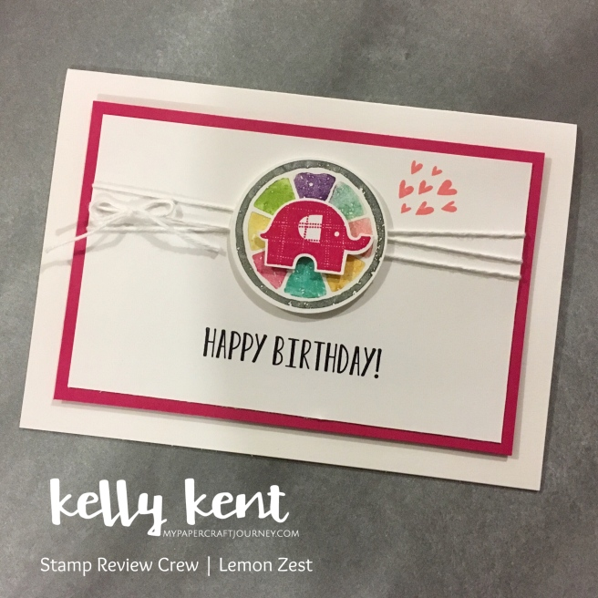 Stamp Review Crew - Lemon Zest | kelly kent