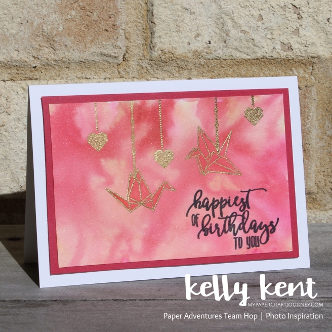 Artfully Folded Watercolour | kelly kent