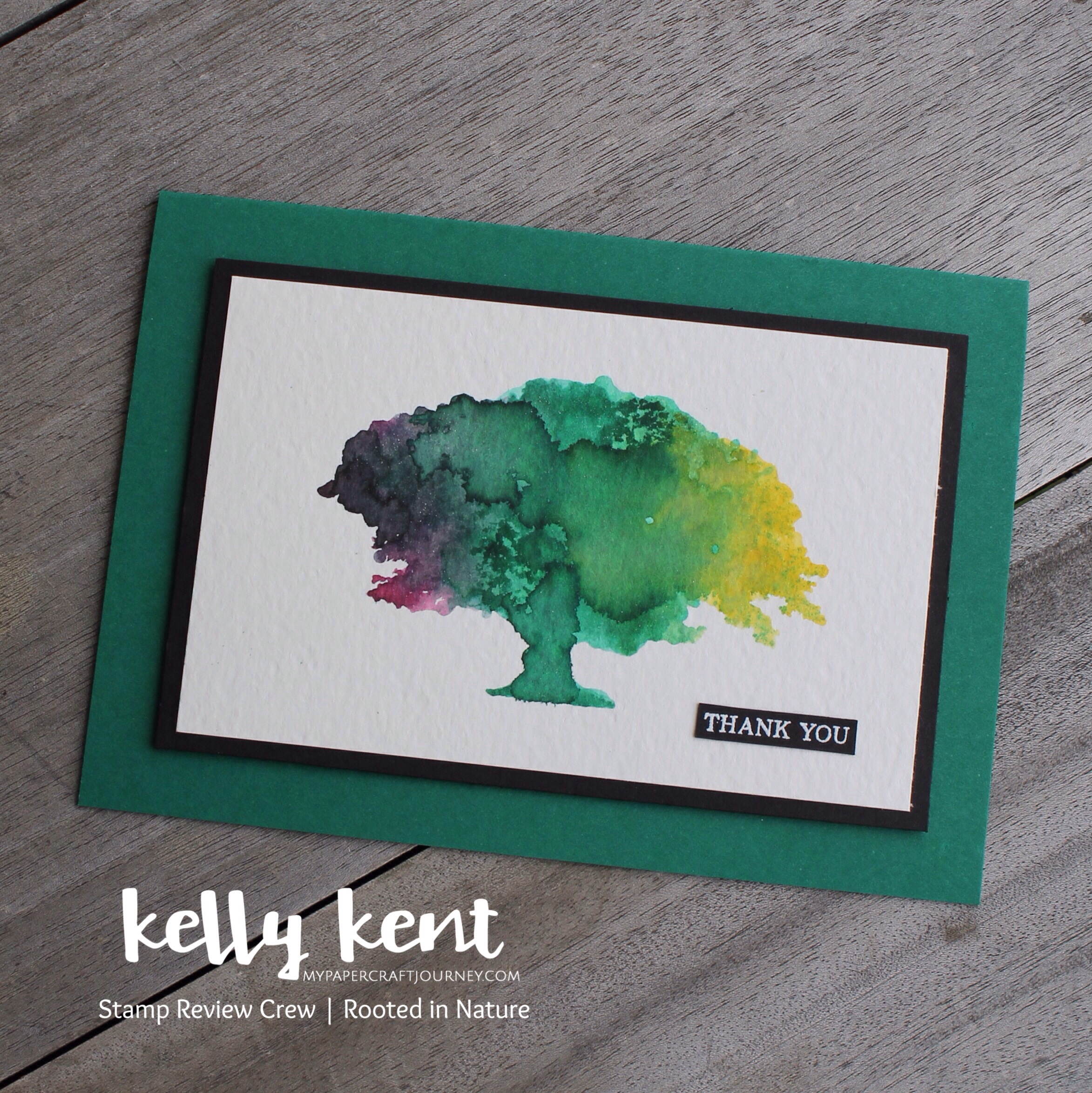 Stamp Review Crew - Rooted in Nature   kelly kent