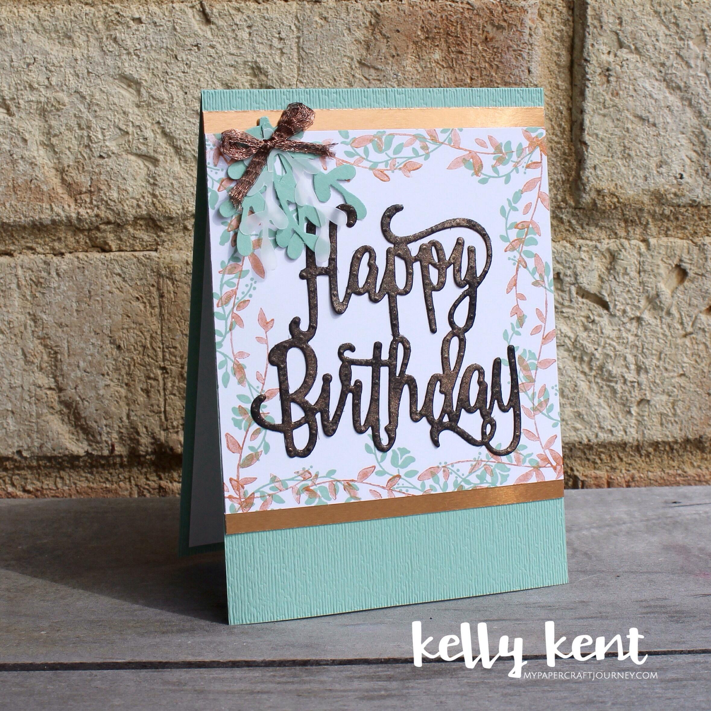 Happy Birthday | kelly kent