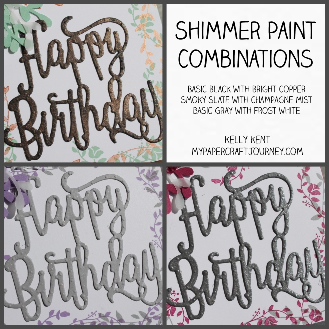 Shimmer Paint Combinations | kelly kent