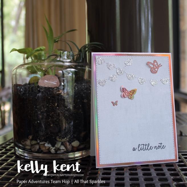 A Little Butterfly Note | kelly kent