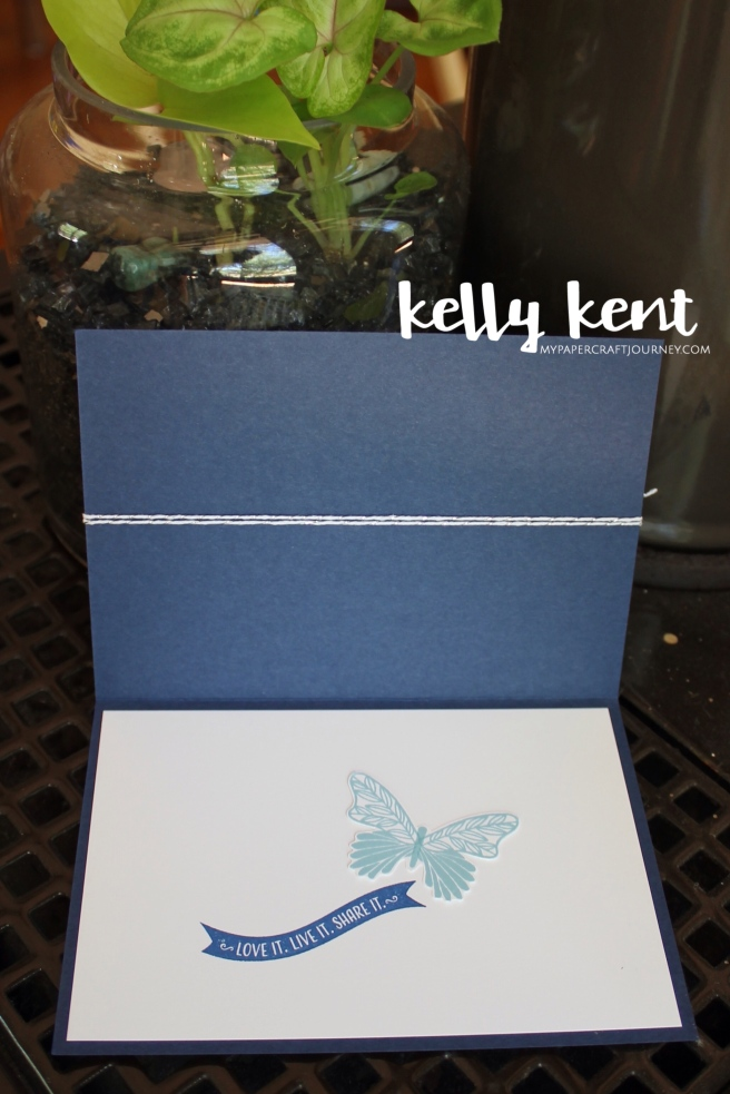 Stamping Your Way to the Top Butterfly | kelly kent