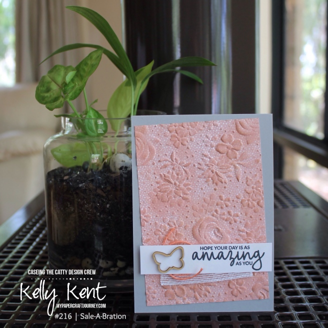 Country Floral Embossing | kelly kent