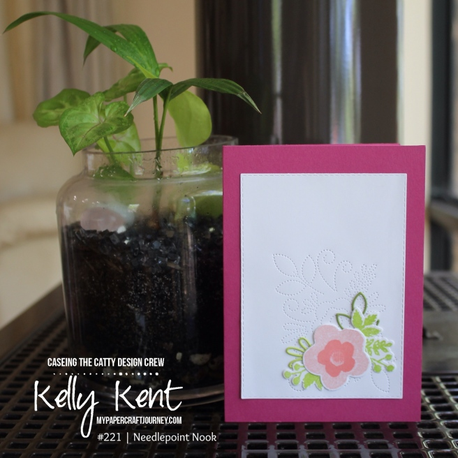 Needlepoint Nook Spinner Pop Up Card | kelly kent