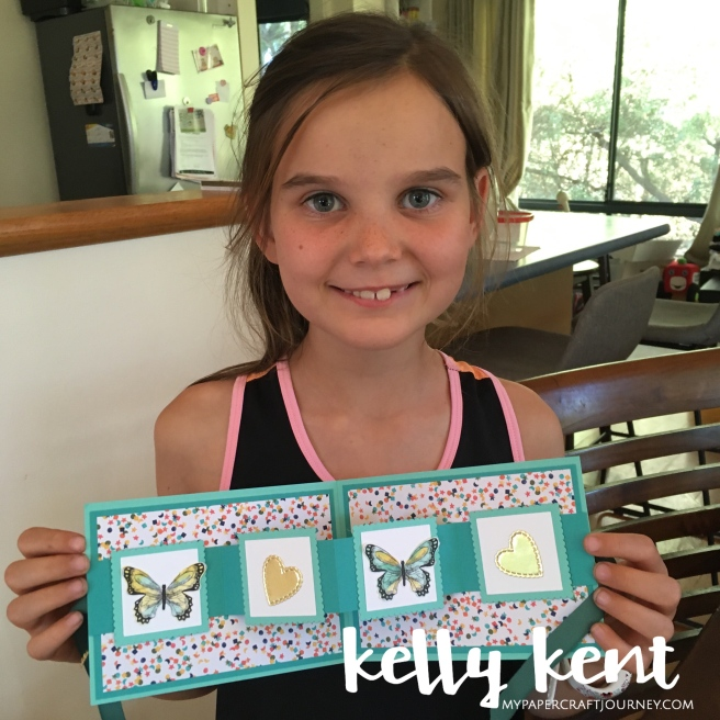 Stampin' Up! with kids | kelly kent