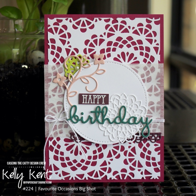Doily Builder Thinlits | kelly kent
