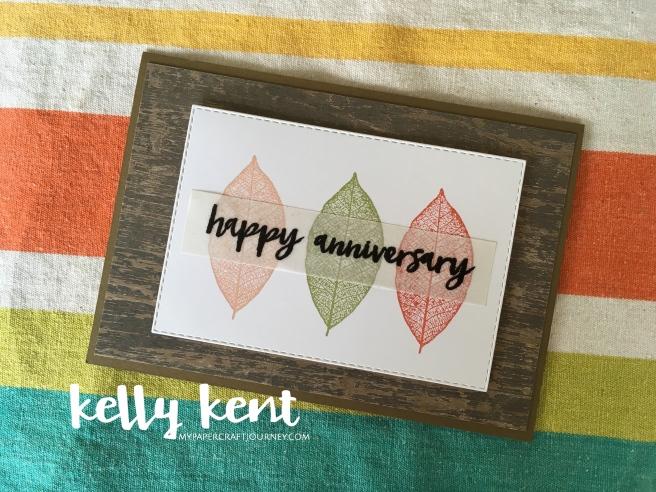 Happy Anniversary | kelly kent