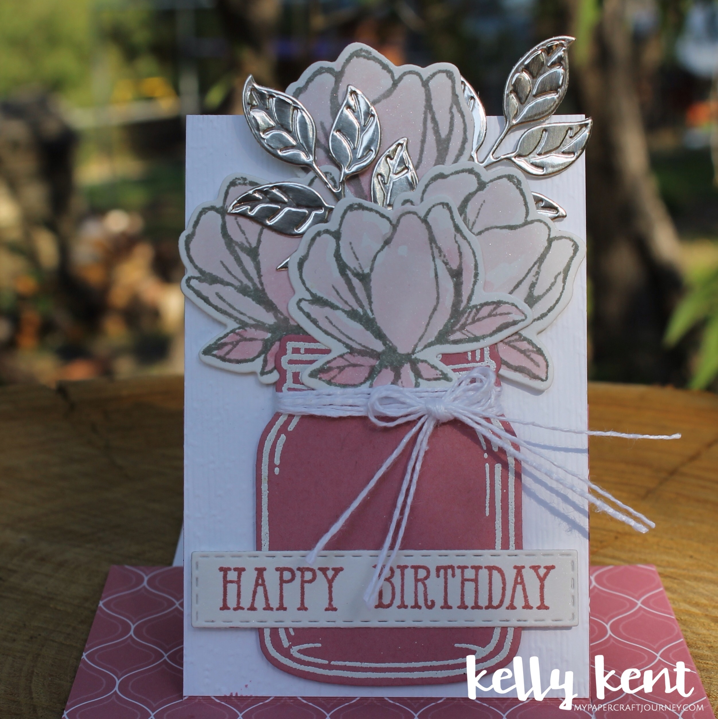 Rococo Rose Pop Up Slider Card | kelly kent