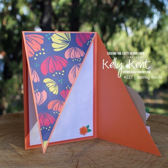 Triangle Fun Fold | kelly kent