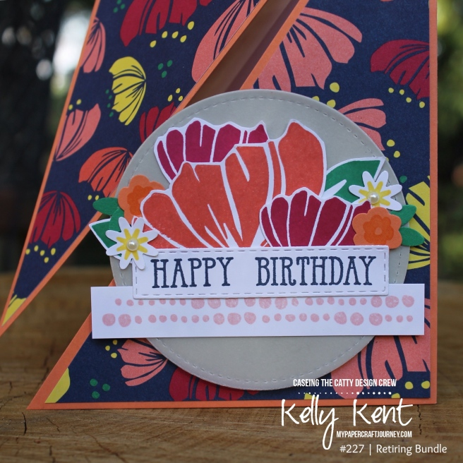 Triangle Fun Fold | kelly kent