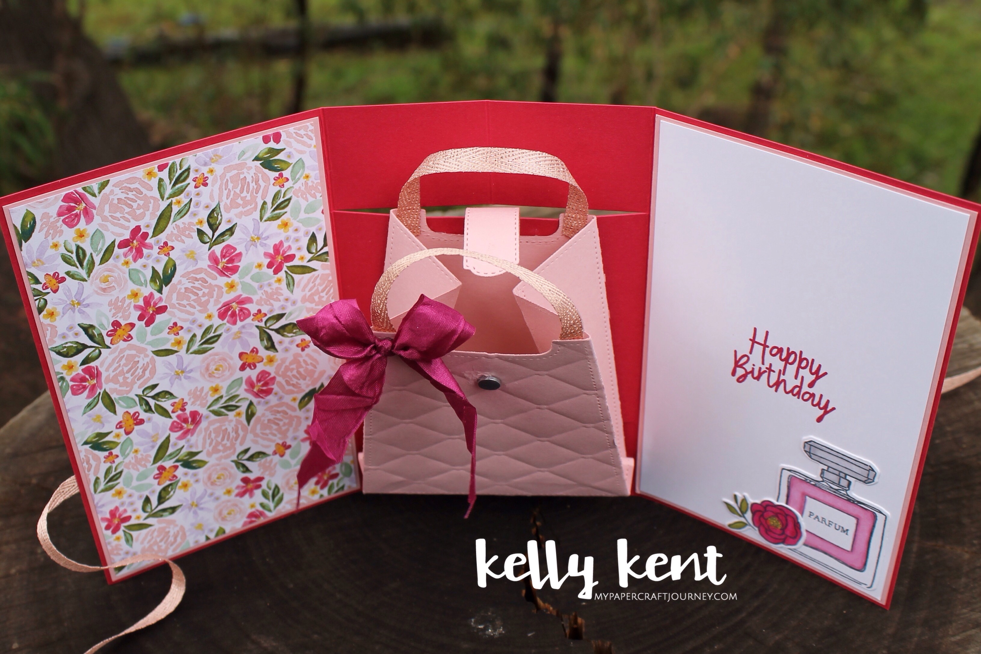 Pop Out Purse Card | kelly kent