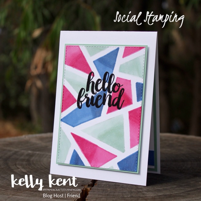 Washi Masking Technique | kelly kent