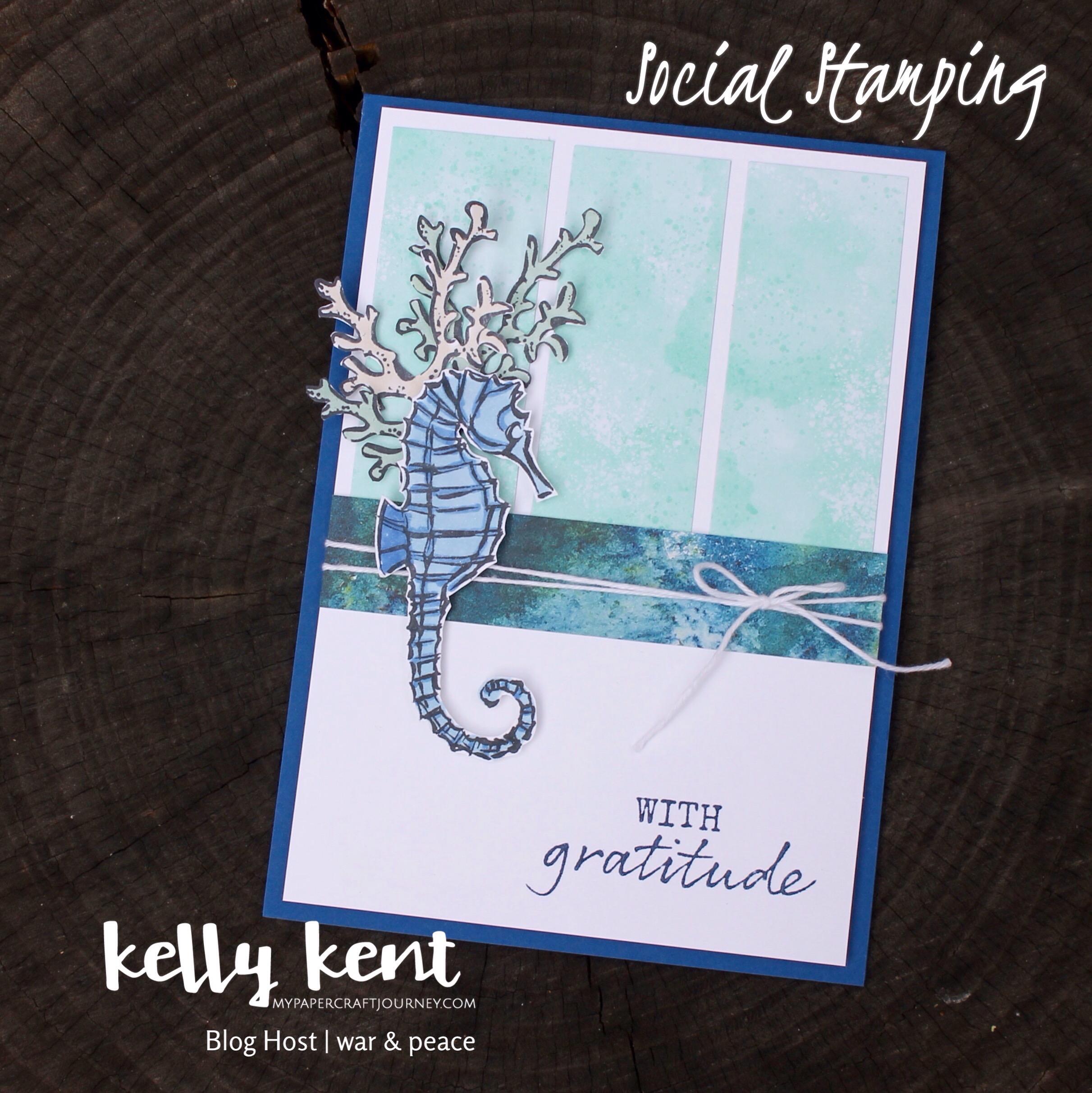 Grateful Seahorse | kelly kent