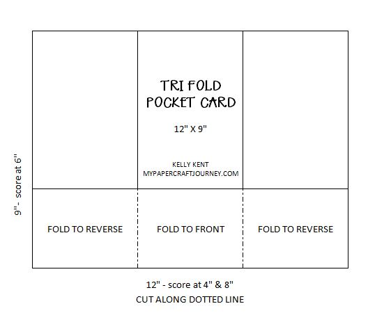 Tr Fold Pocket Card | kelly kent
