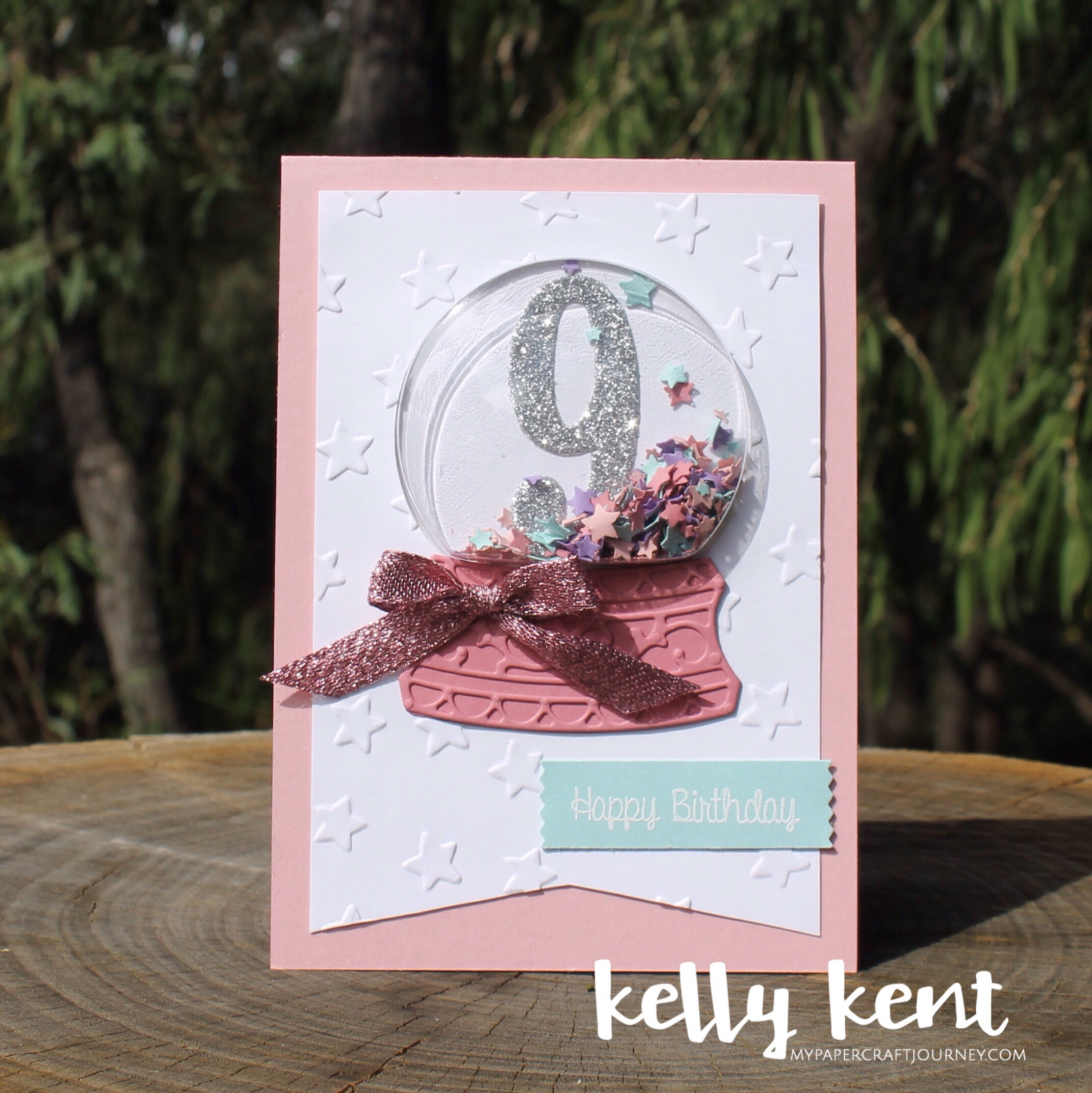 Snow Globe - 9th birthday | kelly kent