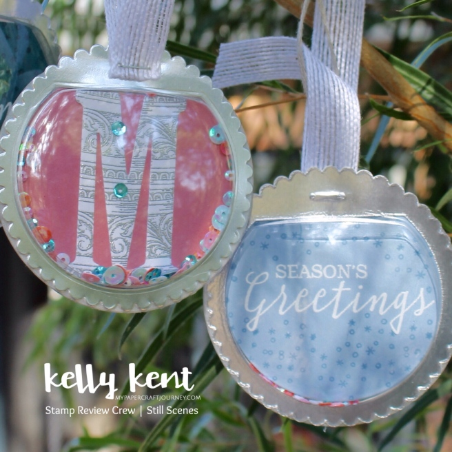 Snow Globe Shaker Dome Ornament | kelly kent