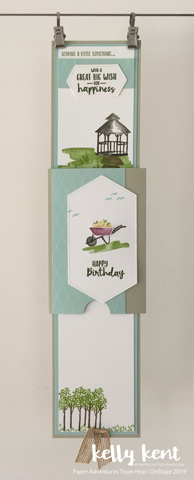 My Meadow Double Slider Card | kelly kent