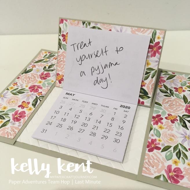 Easel Calendar 2020 | kelly kent
