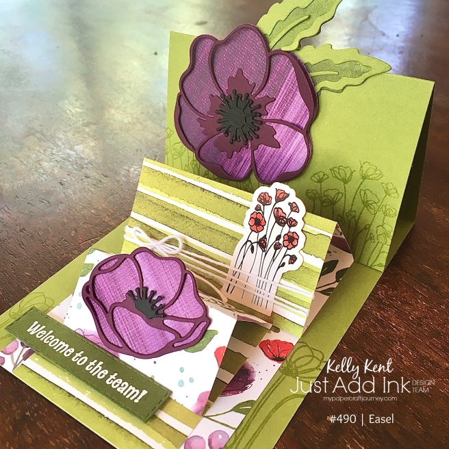 Triple Easel Card | kelly kent