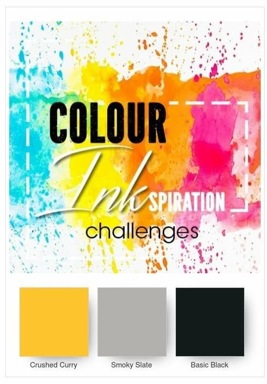 Colour INKspiration 3rd birthday blog hop | kelly kent