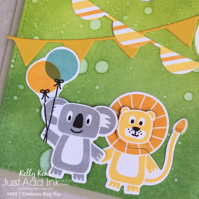Birthday Bonanza Reveal Wheel card | kelly kent