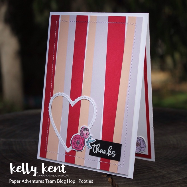 Paper Adventures Blog Hop - Pootles | kelly kent