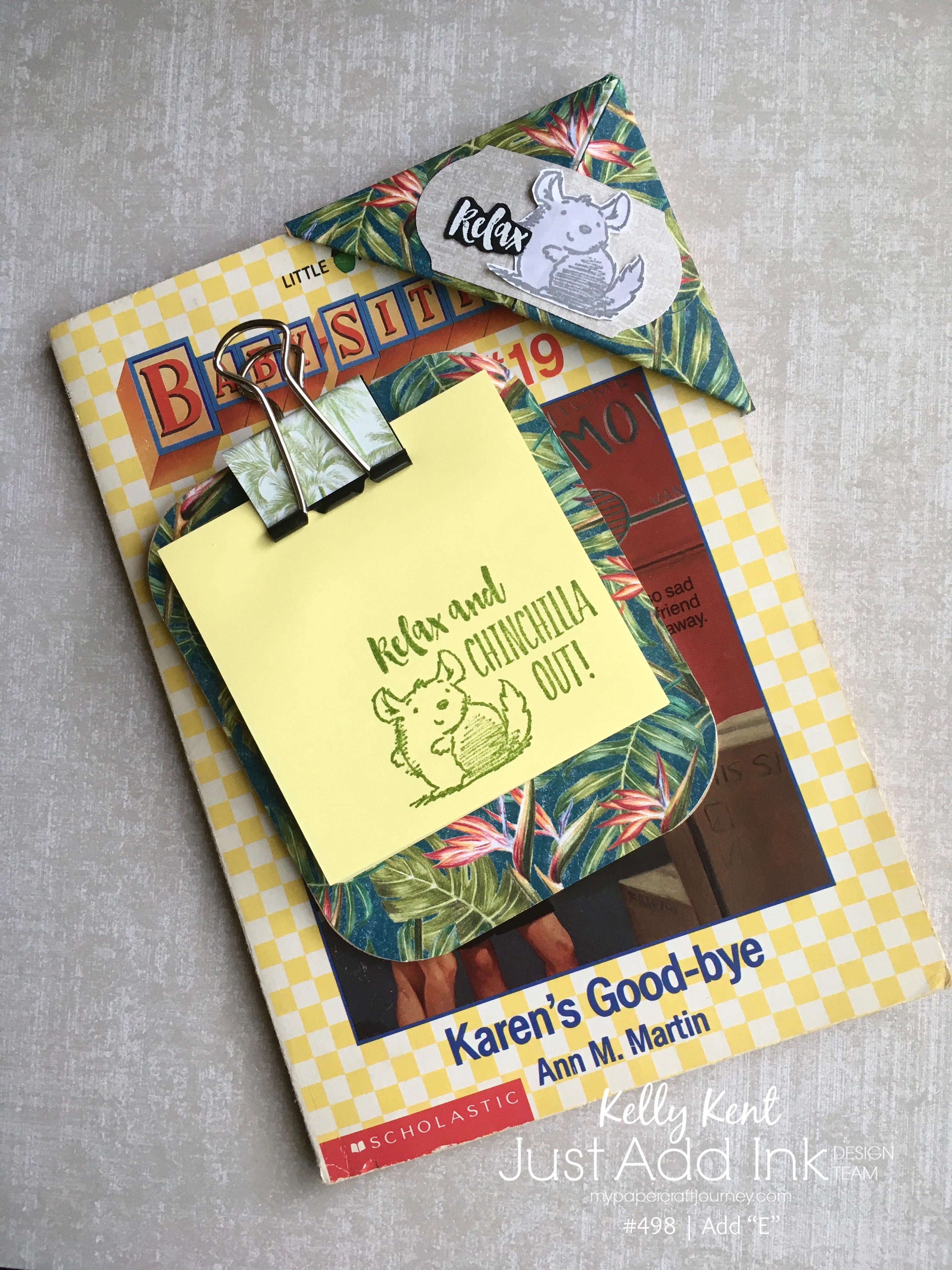 Corner Bookmark | kelly kent
