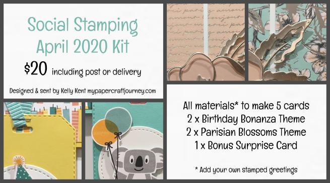 Social Stamping Kit | kelly kent