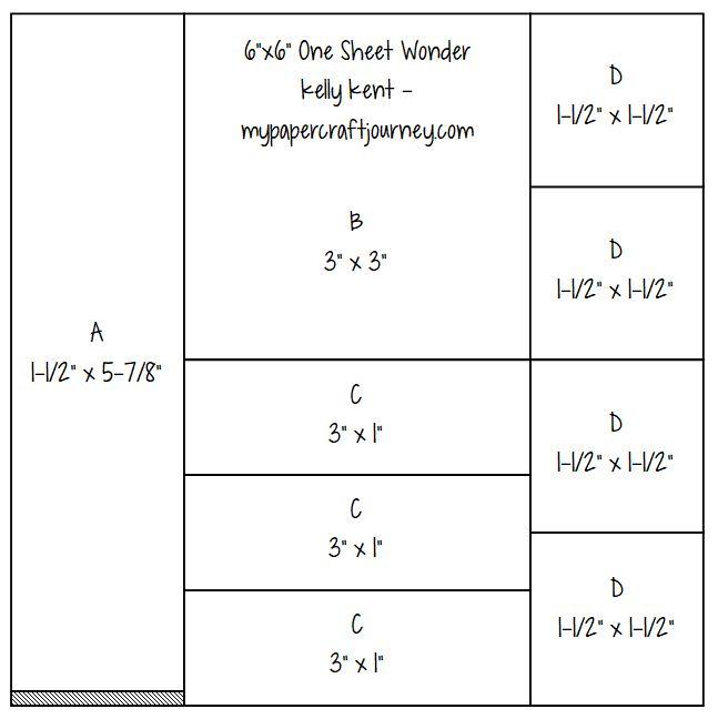 6x6 One Sheet Wonder | kelly kent