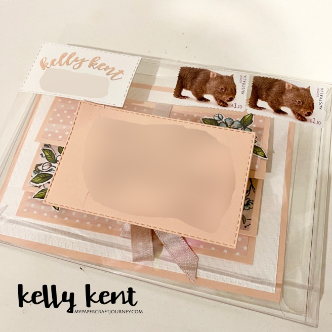 Acetate Box Envelope | kelly kent