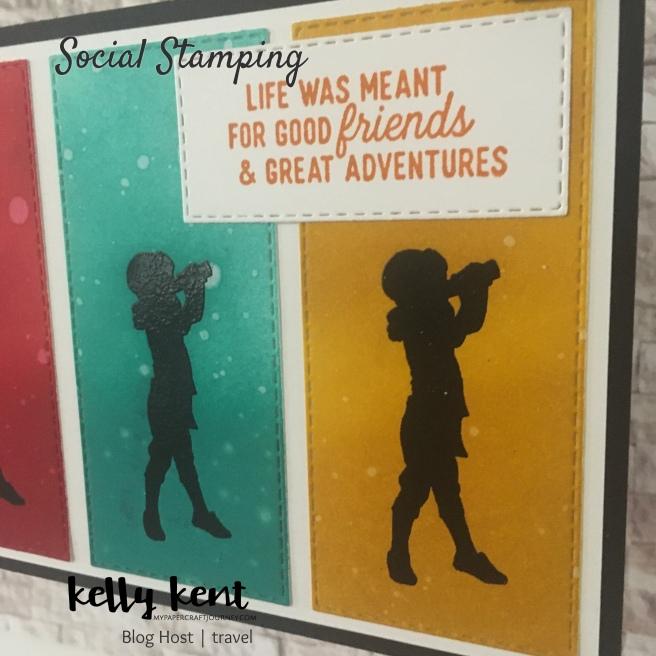 Silhouette Scenes Postcard | kelly kent