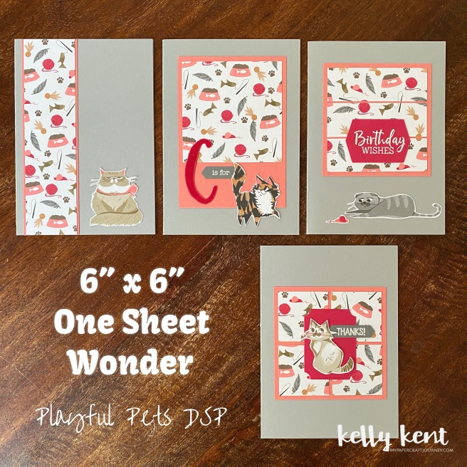 Playful Pets One Sheet Wonder | kelly kent