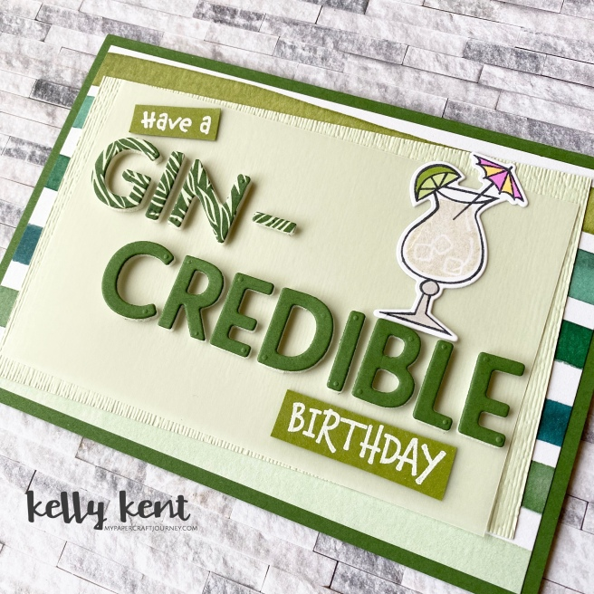 Gin-credible Birthday | kelly kent