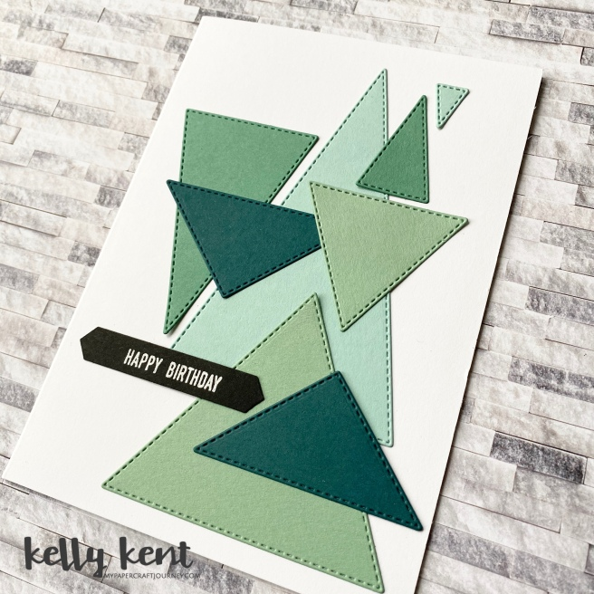 More Stitched Triangles | kelly kent