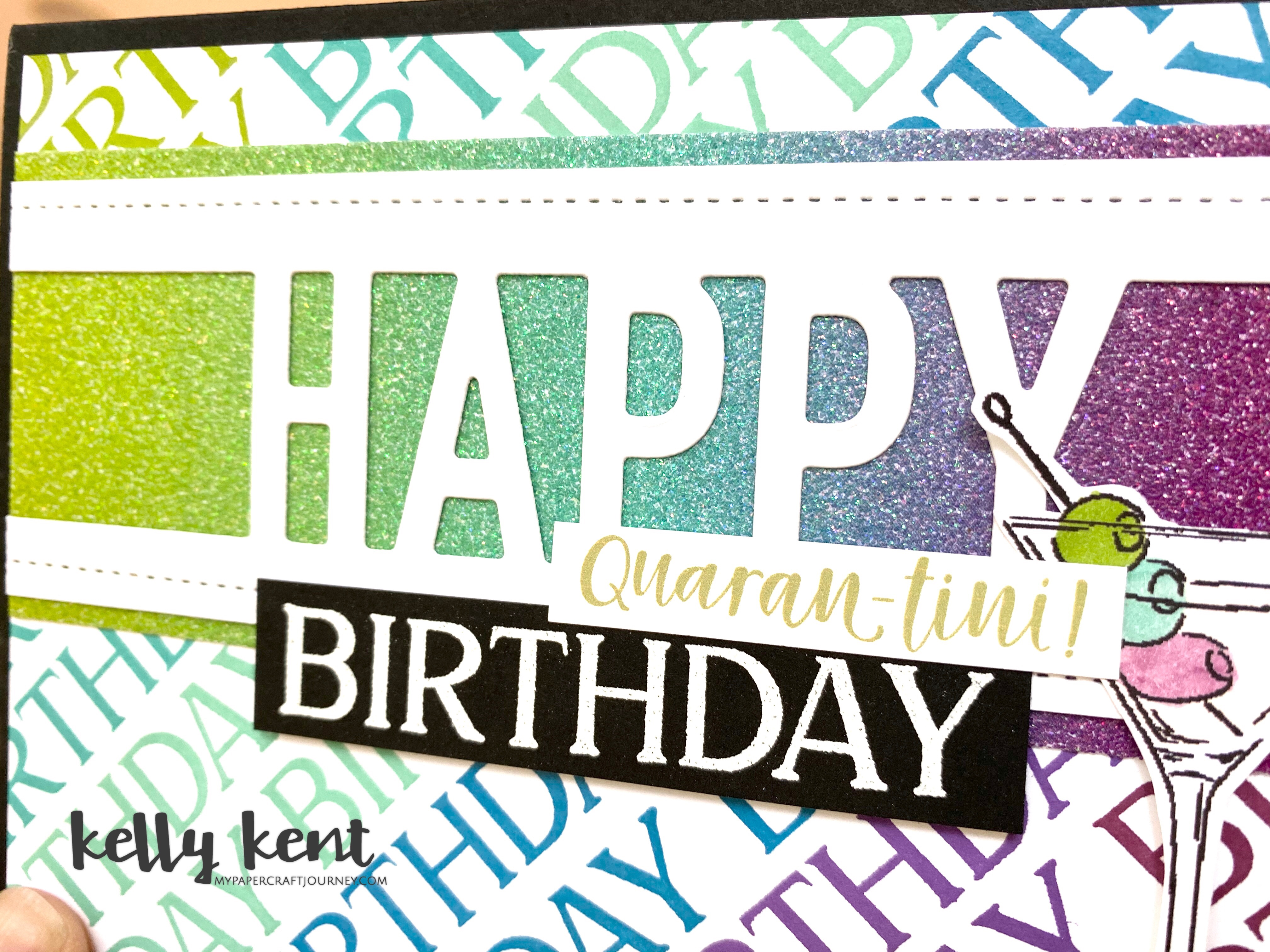 Happy Quarantini Birthday | kelly kent