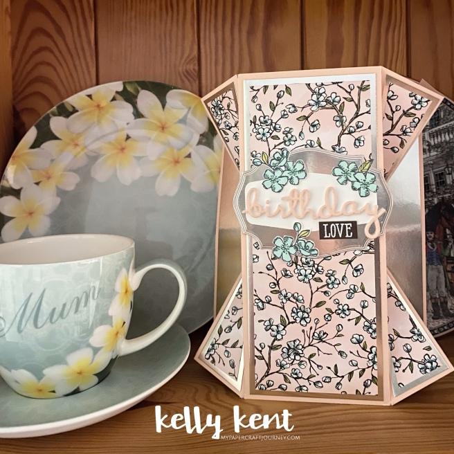 Double Fan Fold | kelly kent
