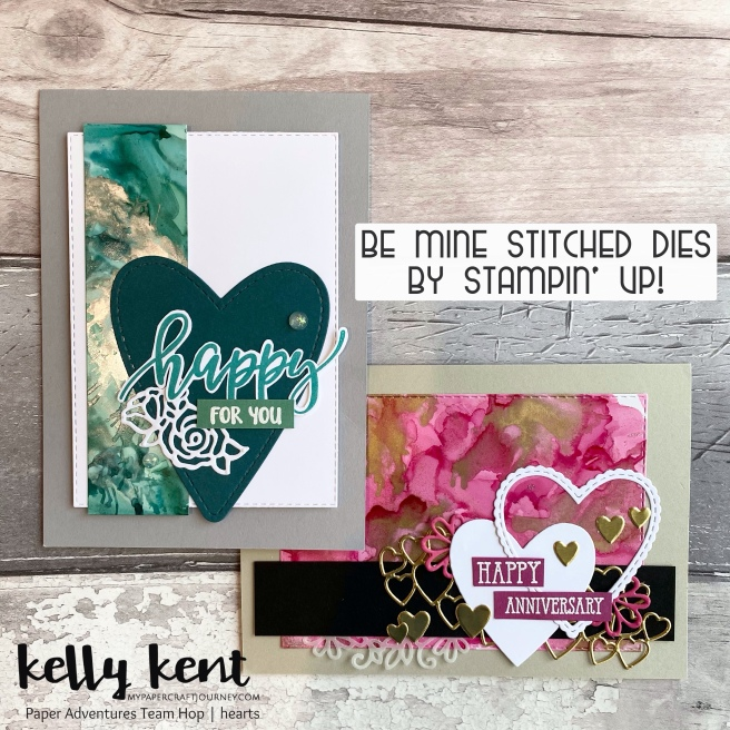 Be Mine Stitched | kelly kent